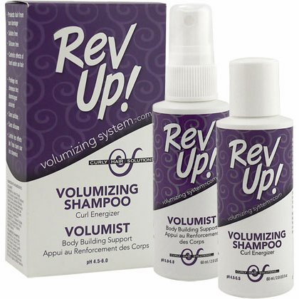 Curly Hair Solutions Rev Up Volumizing System Kit Small