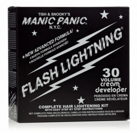 Manic Panic Flash Lightning Bleach Kit 30 Volume