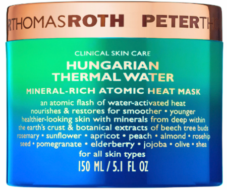 Peter Thomas Roth Hungarian Thermal Water Mineral-Rich Atomic Heat Mask 5.1 oz