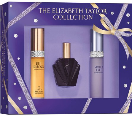 The Elizabeth Taylor Collection by Elizabeth Taylor for Women 3 Piece Fragrance Gift Set 2018