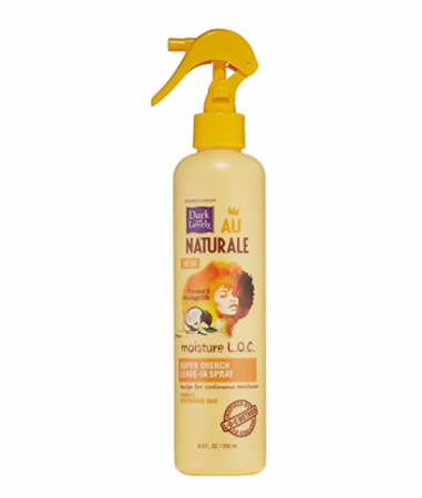 Dark And Lovely Moisture LOC Super Quench Leave-In Spray 8.5 oz
