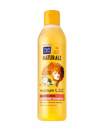 Dark And Lovely Au Naturale Moisture LOC Sulfate-Free Shampoo 13.5 oz