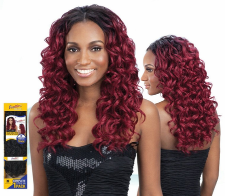Freetress Halo Curl 5 Pcs Weave Synthetic New 2019