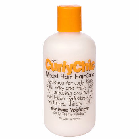 Curly Chic Mixed Texture Hair Curly Creme Vitalizer 8 oz