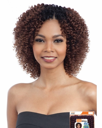 Model Model Glance 2X Spiral Wand Curl (Small) Braids Synthetic New 2019