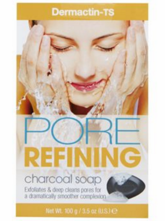 Dermactin-TS Pore Refining Charcoal Soap 3.5 oz