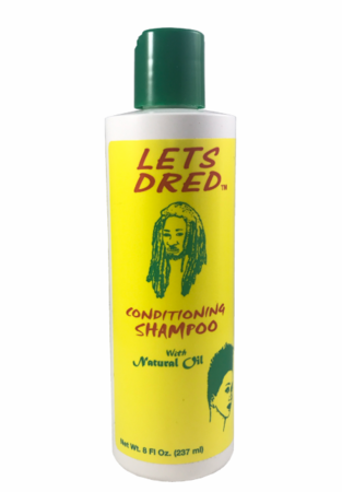 Lets Dred Conditioning Shampoo with Natural Oil 8oz
