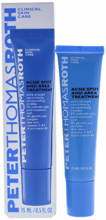 Peter Thomas Roth Acne Spot and Area Treatment 0.5 oz 2019