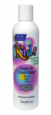 At One With Nature Kids Leave In Conditioner 8 oz