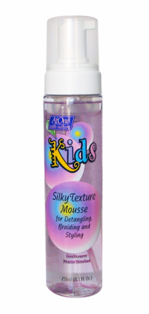 At One With Nature Kids Silky Texture Foaming Detangler 8.5 oz