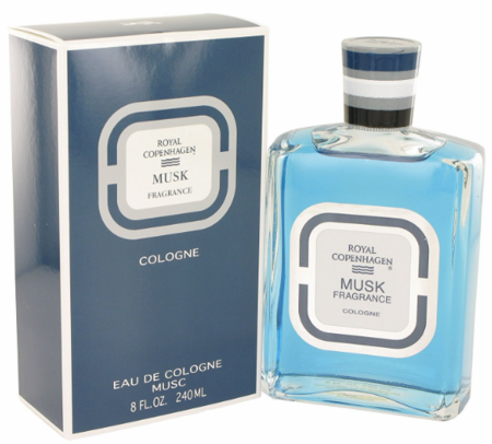 Royal Copenhagen Musk Fragrance for Men Cologne 4 oz