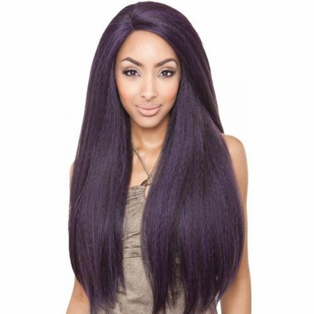 Mane Concept Brown Sugar BS213 Lace Front Wig Human Hair Blend
