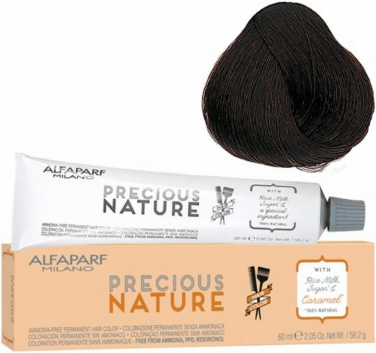 Alfaparf Milano Precious Nature Permanent Hair Color 5.32 Light Golden Violet Brown 2.05 oz 2019