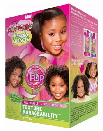 African Pride Dream Kids Texture Manageability Maintenance System Kit