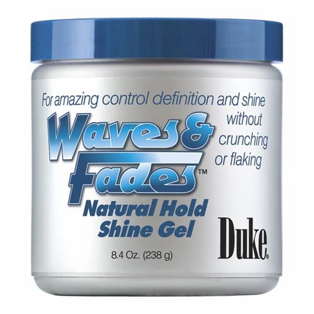 Duke Waves & Fades Natural Hold Shine Gel 8.4 oz