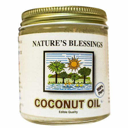Nature's Blessings Pure Coconut Oil 4 oz