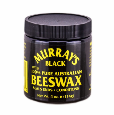 Murray's Bees Wax Black 3.5 oz jar