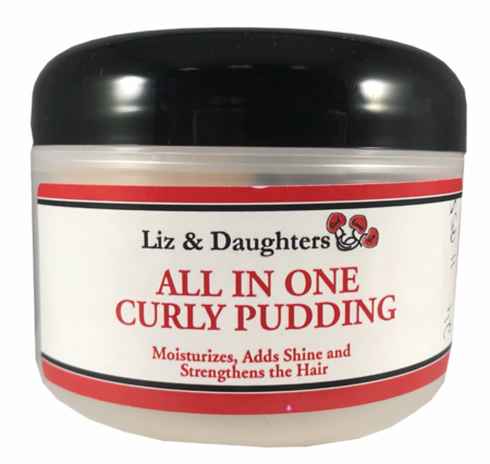 Liz & Daughters All In One Curly Pudding 8 oz