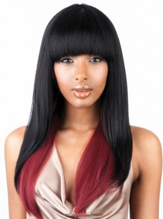Mane Concept Brown Sugar BS103 Lace Front Wig Human Hair Blend
