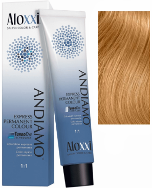 Aloxxi Andiamo Express Permanent Hair Color 9G Peach Bellini 2 oz 2019
