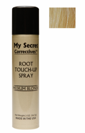 My Secret Correctives Root Touch-Up Spray Medium Blonde 2 oz