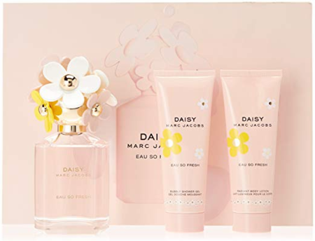 Daisy Eau So Fresh by Marc Jacobs for Women 3 Piece Fragrance Gift Set 2018