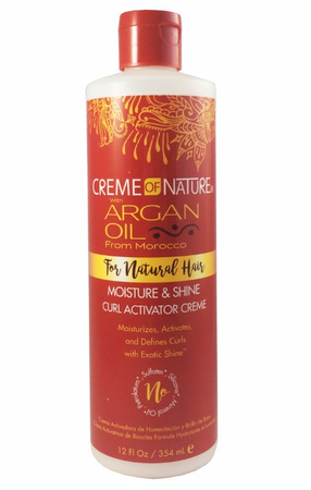 Creme of Nature Argan Oil Curl Activator Cream 12 oz