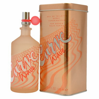 Curve Wave by Liz Claiborne Fragrance for Women Eau de Toilette Spray 3.4 oz