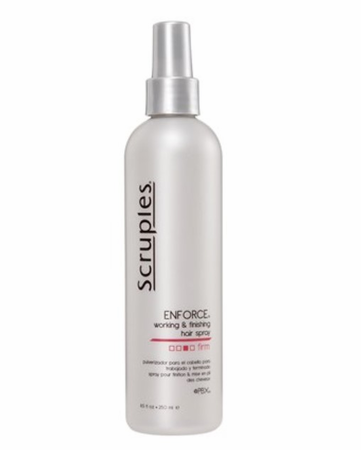 Scruples Pearl Classic Collection Enforce Working & Finishing Hairspray 8.5 oz