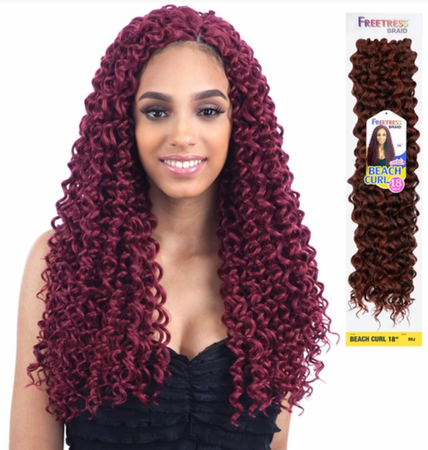 FreeTress Braid Beach Curl 18