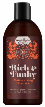 Uncle Funky's Daughter Rich & Funky Moisturising Cleanser 8 oz