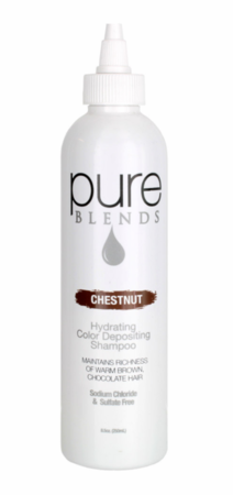 Pure Blends Chestnut Hydrating Color Depositing Shampoo 8.5 oz
