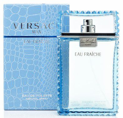 Versace Man Eau Fraiche by Versace Fragrance for Men Eau de Toilette Spray 1.7 oz 2018