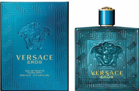 Versace Eros by Versace Fragrance for Men Eau de Toilette Spray 6.7 oz 2018