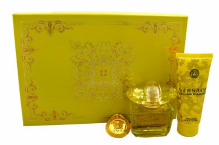Yellow Diamond by Versace For Women 3 Piece Fragrance Gift Set 2018