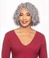 Foxy Silver Ernestine Hand Stitched Wig Synthetic New 2019