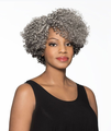 Foxy Silver Marjorie J Lace Wig Synthetic