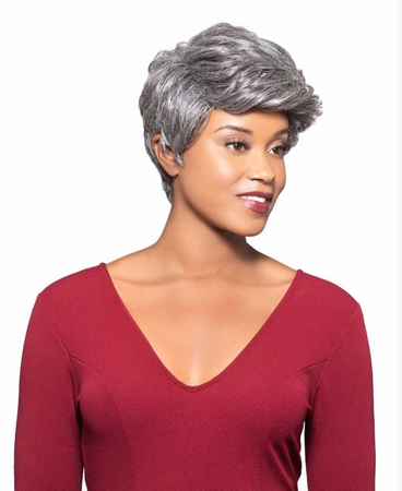 Foxy Silver Milly Wig Human Hair New 2019