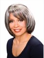 Foxy Silver Madison Hand Stitched Wig Synthetic