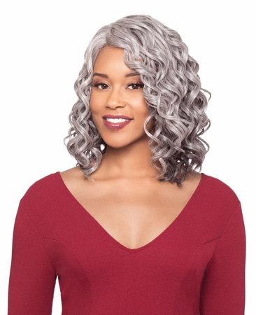 Foxy Silver Lisa Hand Stitched Wig Synthetic New 2019