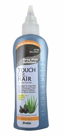 Avatar Touch Ur Grey Hair Color Soft Black 3.5 oz