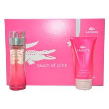 Lacoste Touch of Pink Perfume By Lacoste For Women 2 Piece Gift Set 2018