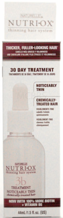 Nutri-Ox 30 Day Treatment for Extremely Thin Normal or Chemically Treated Hair 1.5 oz