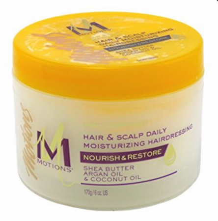 Motions Hair And Scalp Daily Moisturizing Hairdressing 6 oz