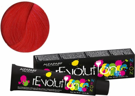 Alfaparf Milano Revolution JC Direct Coloring Hair Cream Neon Electric Red 3.04 oz 2019