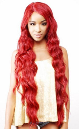 R&B Collection HL-Bold Lace Front Wig Human Hair Blend