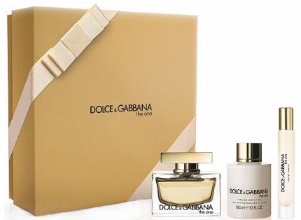 The One by Dolce & Gabbana for Women 3 Piece Fragrance Gift Set 2018