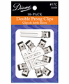 Diane by Fromm D17C Double Prong Clips 10 Pack