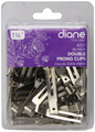 "Diane Double Prong Clips 80 Pack 1-3/4"" #D17"