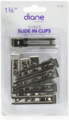 "Diane Slide-In Double Prong Clips 10 Pack 1-3/4"" #19C"